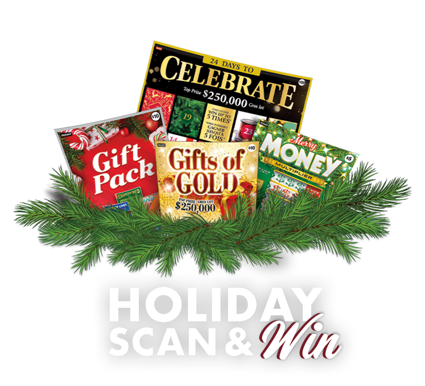 HOLIDAY SCAN & WIN